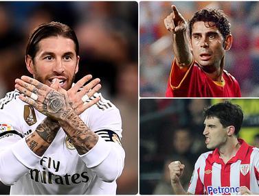 Sergio Ramos dan 5 Bek Pencetak Gol Terbanyak di La Liga