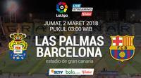 La Liga_Las Palmas Vs Barcelona (Bola.com/Adreanus Titus)