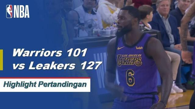 Seven Lakers mencetak angka ganda ketika Los Angeles menang di Oakland, 127-101.