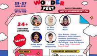 Wonderfest 2021 merupakan festival anak dan keluarga yang diselenggarakan secara daring mulai 25--27 Juni 2021. (dok. Istimewa)