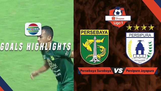 Berita video momen gol Irfan Jaya saat Persebaya Surabaya mengalahkan Persipura Jayapura 1-0 dalam lanjutan Shopee Liga 1 2019, Jumat (2/8/2019).