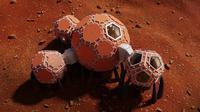 Rancangan rumah yang ideal untuk Mars. (Foto: NASA)