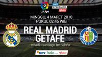 La Liga_Real Madrid Vs Getafe (Bola.com/Adreanus Titus)