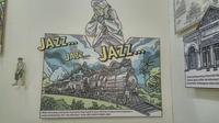 Messiom Jazz dalam Ngayogjazz 2019 menunjukkan kejenakaan sosok Djaduk Ferianto yang merasa prihatin dengan kondisi pengarsipan musik di Indonesia (Liputan6.com/ Switzy Sabandar)