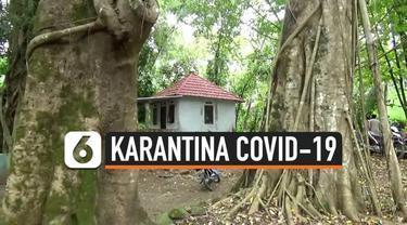 Dua orang asal Tangerang dikarantina di tempat angker karena nekat mudik ke Boyolali. Lokasi karantina berada di tengah lima pohon beringin dan jauh dari permukiman.
