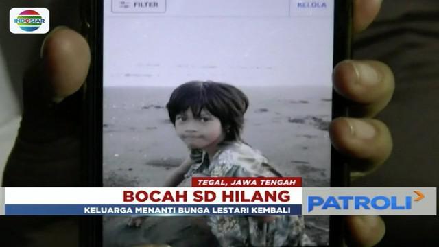 Pamit pergi ke pasar malam, siswi sekolah dasar kelas tiga di Tegal, Jawa Tengah, hilang selama sepekan.