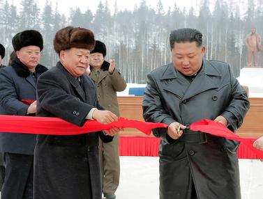 Kim Jong-un Resmikan Samjiyon sebagai Kota Modern