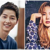 Song Joong Ki-Shin Bora. (Instagram/songjoongkionly Instagram/shinbora.fanpage)