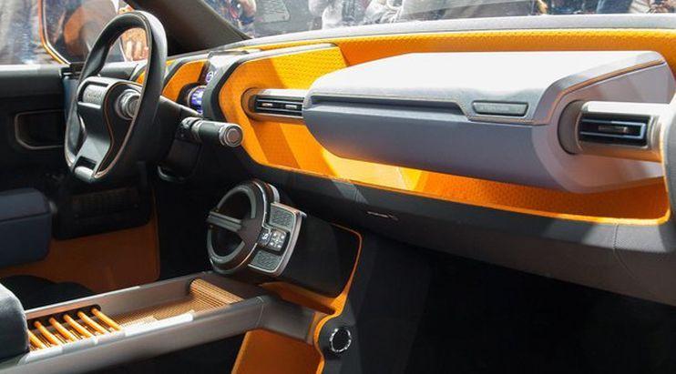 Interior Toyotya FT-4X. (Car Advice)
