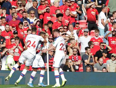 FOTO: Bermain di Old Trafford, Crystal Palace Kalahkan Manchester United
