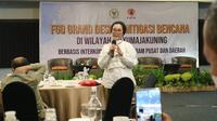 Anggota Komisi VIII DPR RI Selly Andriani Gantina saat mengikuti FGD Grand Desain Mitigasi Bencana di Ciayumajakuning. Foto (istimewa)