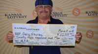 Pemain lotre Kansas Lottery memenangkan hadiah utama sebesar Rp 302,5 juta setelah memasukkan nomor yang sama dalam setiap gambar selama lima tahun. (Dokumentasi Kansas Lottery)