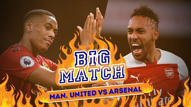 Arsenal berambisi menaklukkan Old Trafford pada laga melawan Manchester United, Kamis (6/12/2018) dinihari WIB.