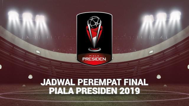 Berita video jadwal Perempat Final Piala Presiden 2019. Persija Jakarta hadapi Kalteng Putra Jumat (29/3/2019) di Stadion Patriot Candrabhaga, Bekasi.