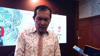 Wakil Ketua KPK Saut Situmorang di ruang sidang Balai Kota Malang, Jawa Timur (Liputan6.com/Zainul Arifin)