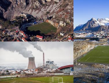 Lapangan Sepak Bola dengan Lokasi Ekstrim dan Menakjubkan di Seluruh Dunia