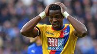 Gelandang Crystal Palace, Wilfried Zaha. (AFP/Ben Stansall)