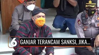 VIDEO: Ganjar Pranowo Terancam Sanksi dari PDIP Jika Mendeklarasikan Diri Sebagai Capres 2024