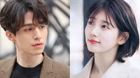 Lee Dong Wook pun juga memuji Suzy. Menurutnya, Suzy merupakan aktris yang down to earth. Lantaran punya pribadi yang sama-sama ceria, keduanya punya dianggap sebagai pasangan yang cocok. (Foto: koreaboo.com)