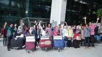 Sebanyak 50 Pekerja Migran Indonesia (PMI) yang termasuk Pekerja Migran Indonesia Bermasalah (PMI-B) dipulangkan dari Yordania