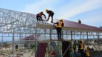 Kementerian PUPR membangun 1.200 Hunian Sementara bagi korban gempa di Kota Palu, Kabupaten Sigi, dan Donggala, di Sulawesi Tengah. Dok Kementerian PUPR
