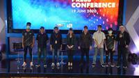 Sesi press conference E-Sports Star Indonesia. (Istimewa)