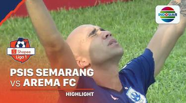Berita Video Highlights Shopee Liga 1 2020, PSIS Semarang Vs Arema FC 2-0