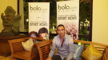 Wawancara Youri Djorkaeff, legenda Internazionale secara eksklusif saat event gathering nasional Inter Club Indonesia di Bali, 2015.