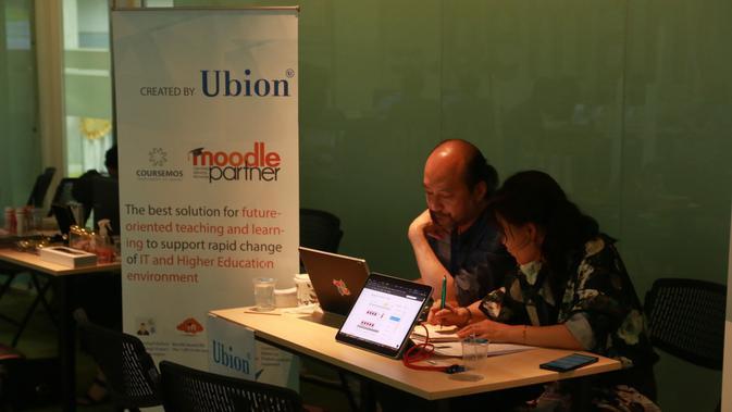 EdTech Startup Asal Korea, Ubion. Liputan6.com/Keenan Pasha