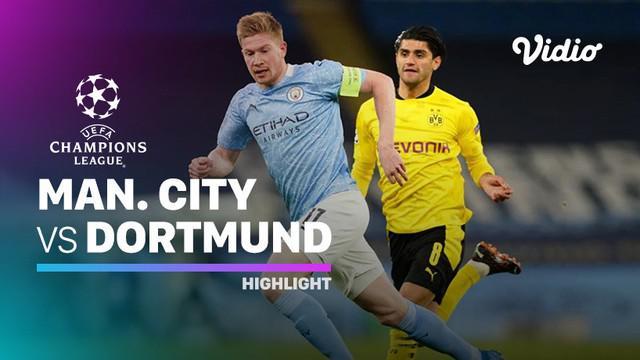 Berita Video Highlights Liga Champions, Manchester City Raih Kemenangan di Leg Pertama Perempat Final Melawan Borussia Dortmund (7/4/2021)