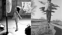Bermain kipas angin dan bermain di rel kereta api (sumber. tumblr.com)