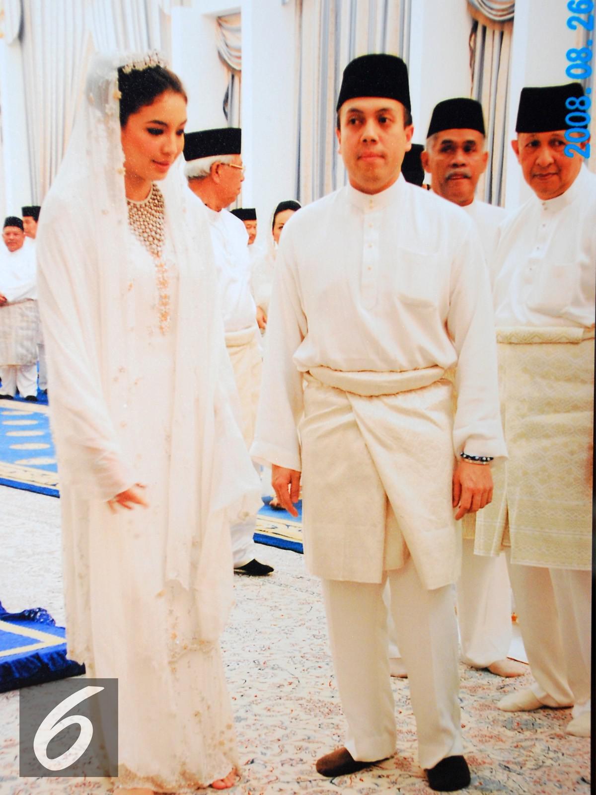 Manohara bersama Tengku Fakhry (Liputan6.com)
