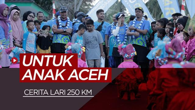 Berita video cerita kelanjutan lima penggiat lari melakoni rute 250 KM di Aceh dalam ajang Run to Care 2019 dari Meulaboh ke Banda Aceh yang dihelat oleh SOS Children's Villages Indonesia.