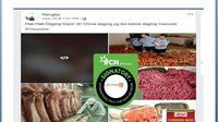 [CEK FAKTA] Benarkah Ada Daging Kornet Terbuat dari Manusia?