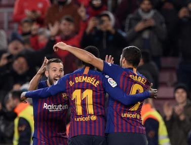 Lionel Messi Jadi Kreator Kemenangan Barcelona Atas Leganes