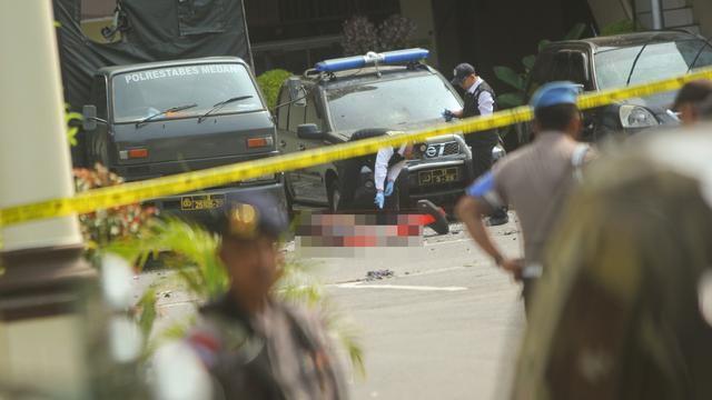 Teror Bom Bunuh Diri di Mapolrestabes Medan