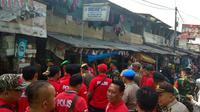 Razia Narkoba di Pasar Manggis, Jakarta Selatan. (Merdeka.com/Nur Habibie)