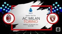AC Milan vs Torino (Liputan6.com/Abdillah)