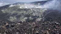 Penampakan Kawah Gunung Slamet, Jumat (9/8/2019) pukul 13.30 WIB. (Foto: Liputan6.com/Perhutani/Muhamad Ridlo)