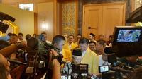 Wakil Presiden Ma'ruf Amin menutup Munas Golkar. (Yopi/Liputan6.com)