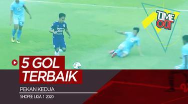 Berita video Time Out kali ini membahas 5 gol terbaik yang tercipta pada pekan kedua Shopee Liga 1 2020.