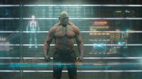Dave Bautista sebagai Drax di Guardians of the Galaxy. (Marvel Studios)