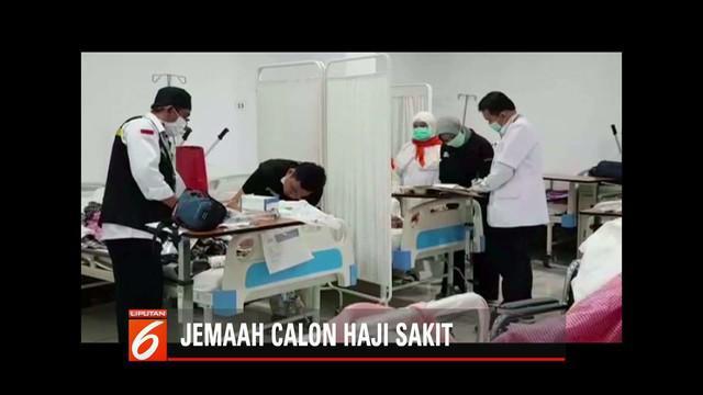 KKHI rekomendasikan 57 jemaah calon haji untuk badalkan haji karena sakit.