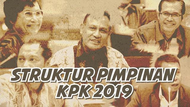 KPK akan dipimpin oleh lima pimpinan baru mulai 20 Desember 2019.