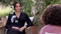 Meghan Markle dalam video preview wawancara dengan Oprah Winfrey. (Tangkapan Layar YouTube/CBS)