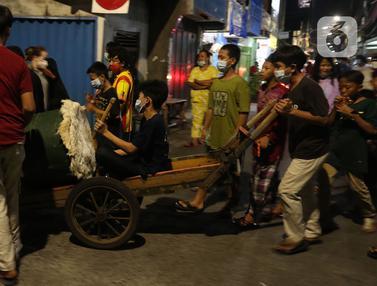 Malam Takbiran Warga Sawah Besar Jakarta