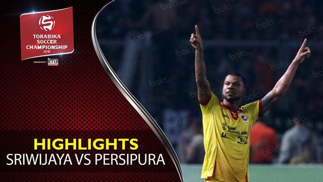 Video highlights TSC 2016 antara Sriwijaya FC Vs Persipura Jayapura yang berakhir dengan skor 1-0 di Stadion Gelora Jakabaring, Palembang.