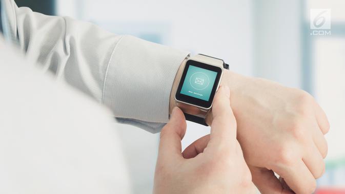 Ilustrasi smartwatch (iStockPhoto)