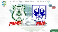 Liga 1 2018 PSMS Medan Vs PSIS Semarang (Bola.com/Adreanus Titus)