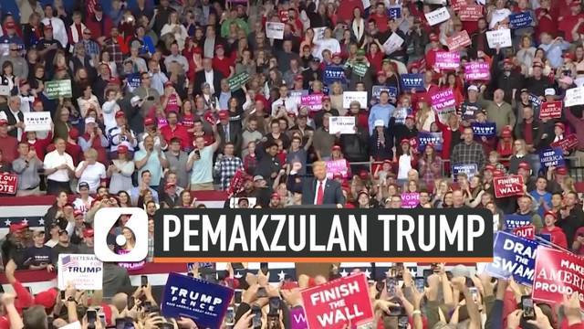 Rabu dan Jum'at mendatang dengar pendapat terbuka digelar di DPR AS sebagai bagian penyelidikan pemakzulan terhadap Presiden Donald Trump. Proses pemakzulan ini masih memunculkan kontroversi diantara calon pemilih menjelang pilpres 2020, terutama dia...